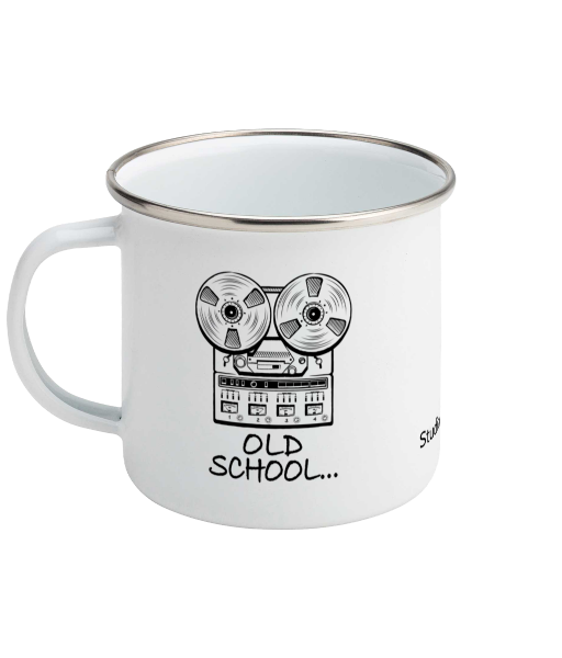 Old School Mug - Enamel